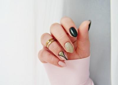 MANICURE | Prosta propozycja na karnawałowe paznokcie - Enestelia - beauty & lifestyle