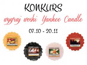 juicy raspberry: KONKURS - WYGRAJ WYBRANE WOSKI YANKEE CANDLE