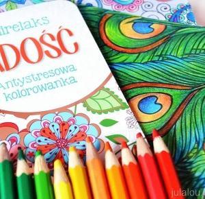JulaLou Art: JulaLou koloruje #2 - Radość