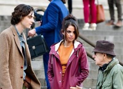 Nowy film Woody'ego Allena, w którym wystąpili: Timothée Chalamet, Selena Gomez, Elle Fanning i Jude Law