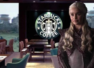 """Starbucks w """"Grze o tron"""" - czy to przypadek?"""