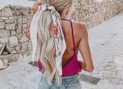 Pomysł na fryzurę na lato - inspiracja