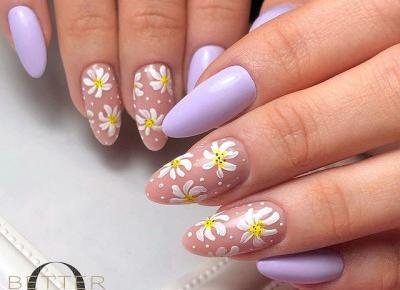 Wiosenne paznokcie - pomysły z Instagrama