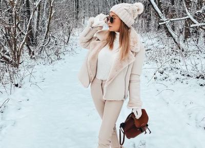 Winter time ❄️ zimowe stylizacje ☃️