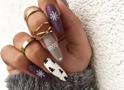 Śnieżynki na paznokciach. Pomysły na zimowy manicure. ❄️🤍