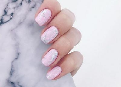 Marble nails 🌸