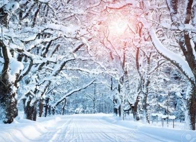 WINTER is beautiful ❄️❄️❄️