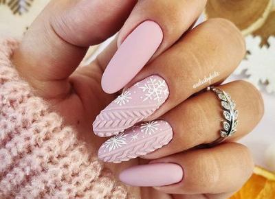 Płatki śniegu na paznokciach. Pomysły na zimowy manicure. ❄️🤍