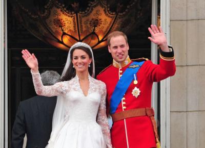 Najdroższe suknie ślubne na królewskim dworze.