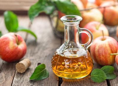 Ocet jabłkowy na zdrowie.