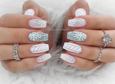 winter nails ❄