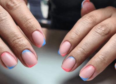 Najmodniejsze paznokcie na zimę? Double french manicure!