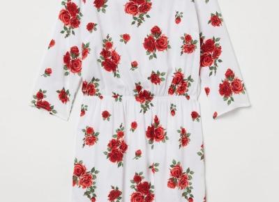 Przecenione sukienki H&M za mniej niż 50 zł | Papilot