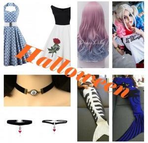 Jak przebrać się na halloween?// WYGRAJ 100$ // Dresslily Halloween wishlist - Jej wysokość Julia