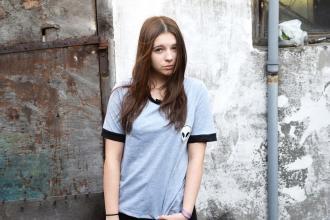 Julita Sudrawska: T-shirt with alien