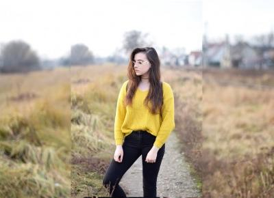 Julita Sudrawska: Yellow Sweater | Haul