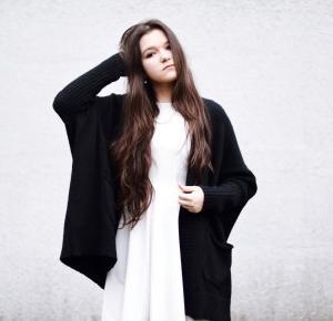 White dress | BLOG ROKU 2015 - Julita Sudrawska