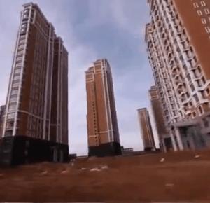 Chińskie miasta - widma.