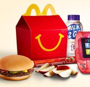 McDonalds wprowadza Happy Meal z krokomierzem
