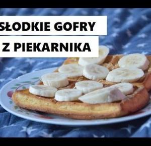 Przepis na słodkie gofry z piekarnika