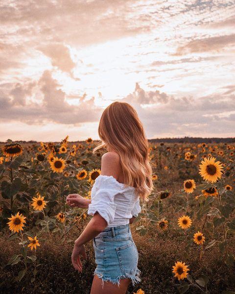Inspiracje na sesję zdjęciową ze słonecznikami 🌻