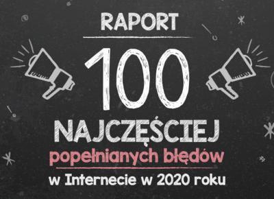 Najczęstsze błędy językowe w polskim Internecie w roku 2020!