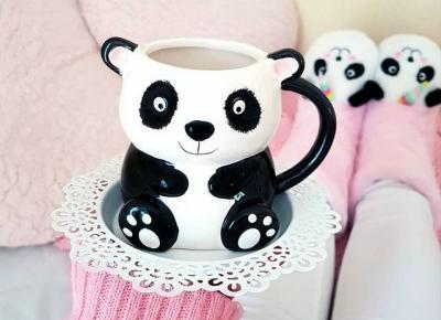 Kubek 3D Panda - Asda