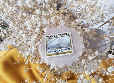 Warm Cashmere - wosk zapachowy od Yankee Candle.