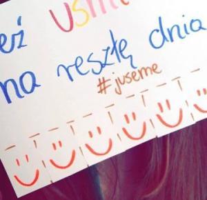 Carrrolina Blog: #JUSEME: Weź uśmiech na resztę dnia