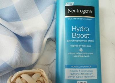 ?elowy balsam do cia?a,  Hydro Boost, Neutrogena