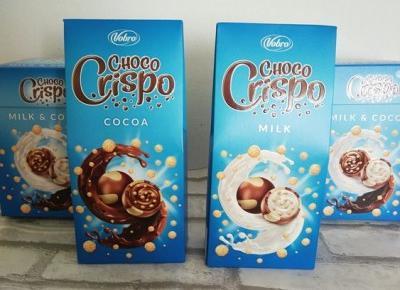 Choco Crispo Czekoladki z chrupkami – Vobro