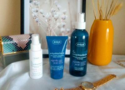 Kosmetyki antyoksydacyjne do pielęgnacji twarzy, Ziaja Vegan -