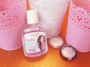 Shaezaelka: Piękne i lśniące włosy - nafta kosmetyczna ♥