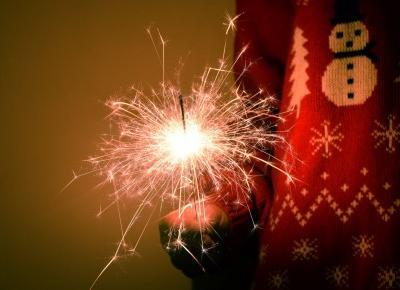 Święta, postanowienia, jestem w gazecie + rozdanie - Justyna Książek
