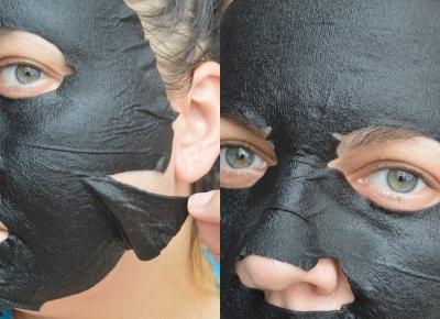 Maska matująca z węglem i ekstraktem z liści czarnej herbaty