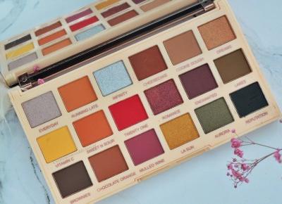 Co sądzę o palecie Makeup Revolution Soph x Extra Spice + makijaże | Cosmetics my Addiction | Beauty Blog