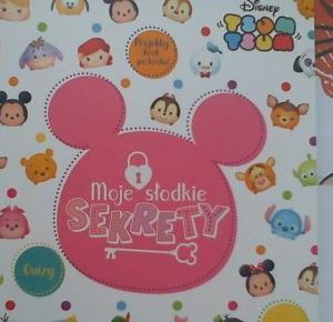 Disney ~ Bajeczny Świat: [Recenzja] Tsum Tsum. Moje słodkie sekrety ♥