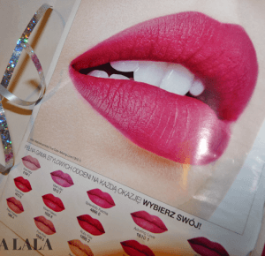 Matowa szminka True Color AVON #recenzja - mała lala