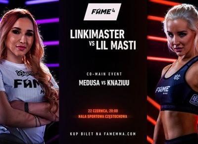 SZOK! LINKIMASTER I LIL MASTI NA FAME MMA 4?!
