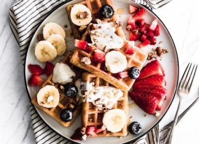 Fit śniadanie - kilka propozycji na śniadanie w zdrowej wersji!
