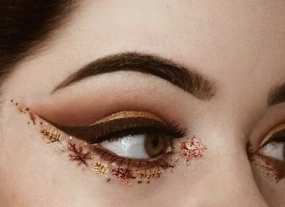 Makijaż idealny na jesień.
