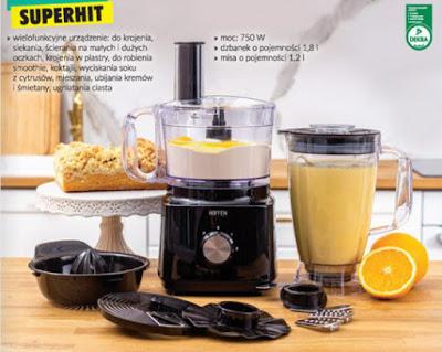 Testujemy produkty z Biedronki: Robot kuchenny 8 W 1 Hoffen z Biedronki