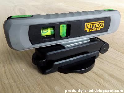 Testujemy produkty z Biedronki: Poziomica laserowa Niteo Tools z Biedronki