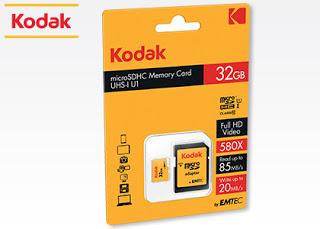 Karta micro SD 32 GB Kodak z Biedronki