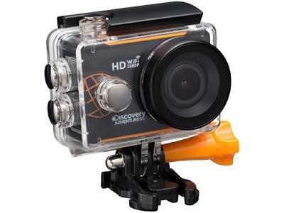 Co w Lidlu: Kamera sportowa GeneralPlus 4248 Discovery Adventures z Lidla