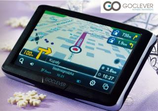 Nawigacja GPS Goclever 5080 z Biedronki
