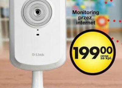 Kamera WiFi D-Link DCS-930L z Biedronki