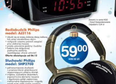 Radiobudzik Philips AJ 3116 z Biedronki