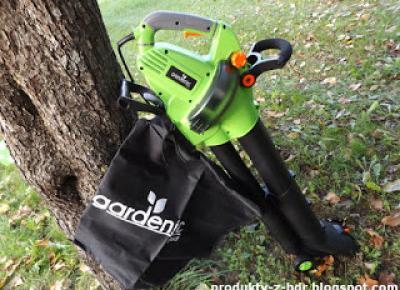 Elektryczny odkurzacz i dmuchawa do liści Gardenic z Biedronki