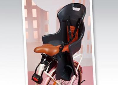 Fotelik rowerowy z Biedronki